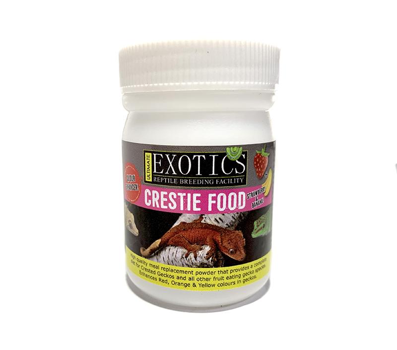Crestie Food 50gram - Strawberry & Banana Colour Enhancer